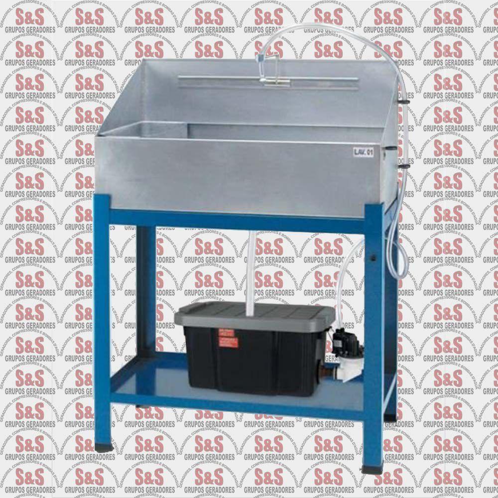 Lavadora Aberta com Reservatório Plástico - 110V -  LAV01 - CMB