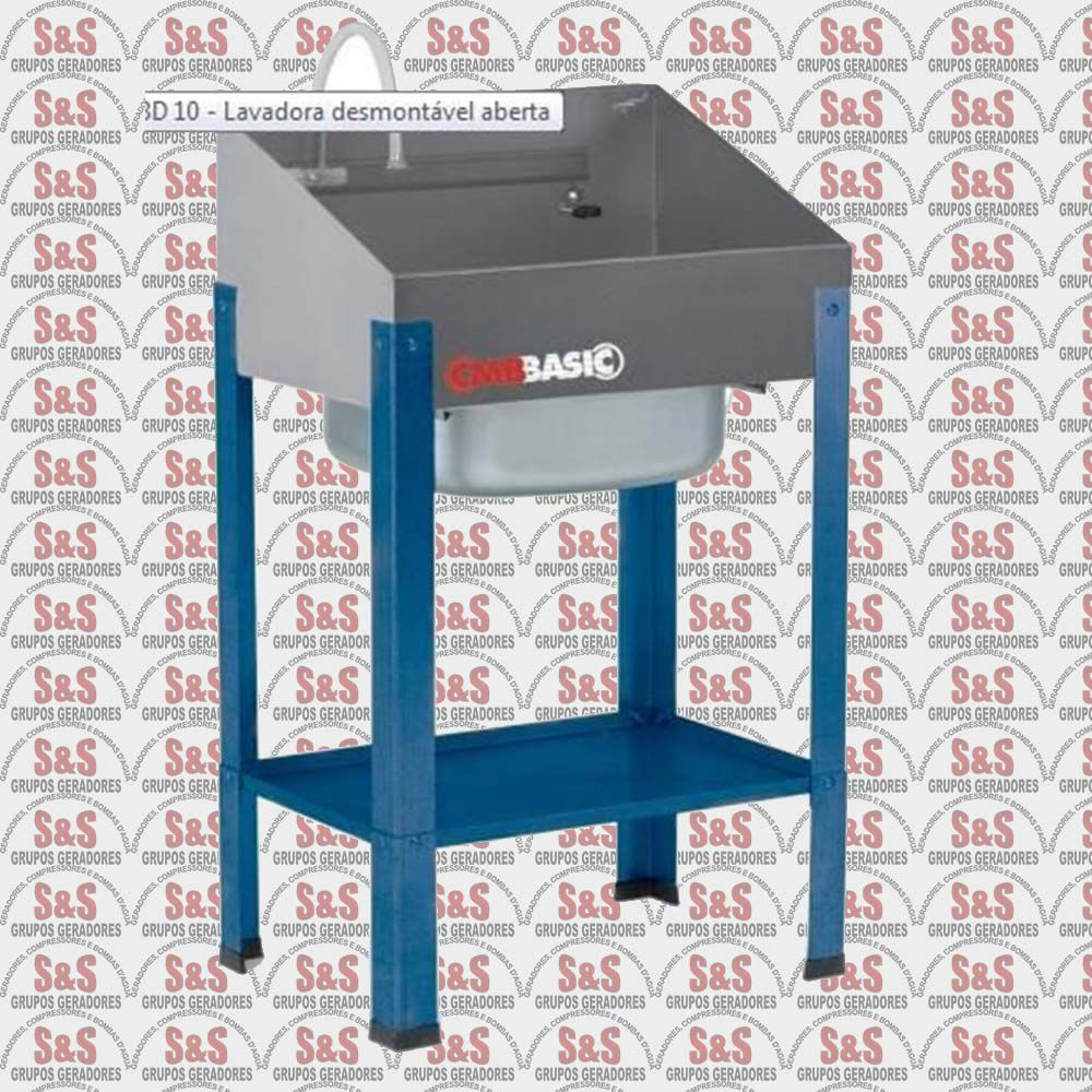 Lavadora Basic Desmontável Aberta - 220V - LBD 10 - CMB