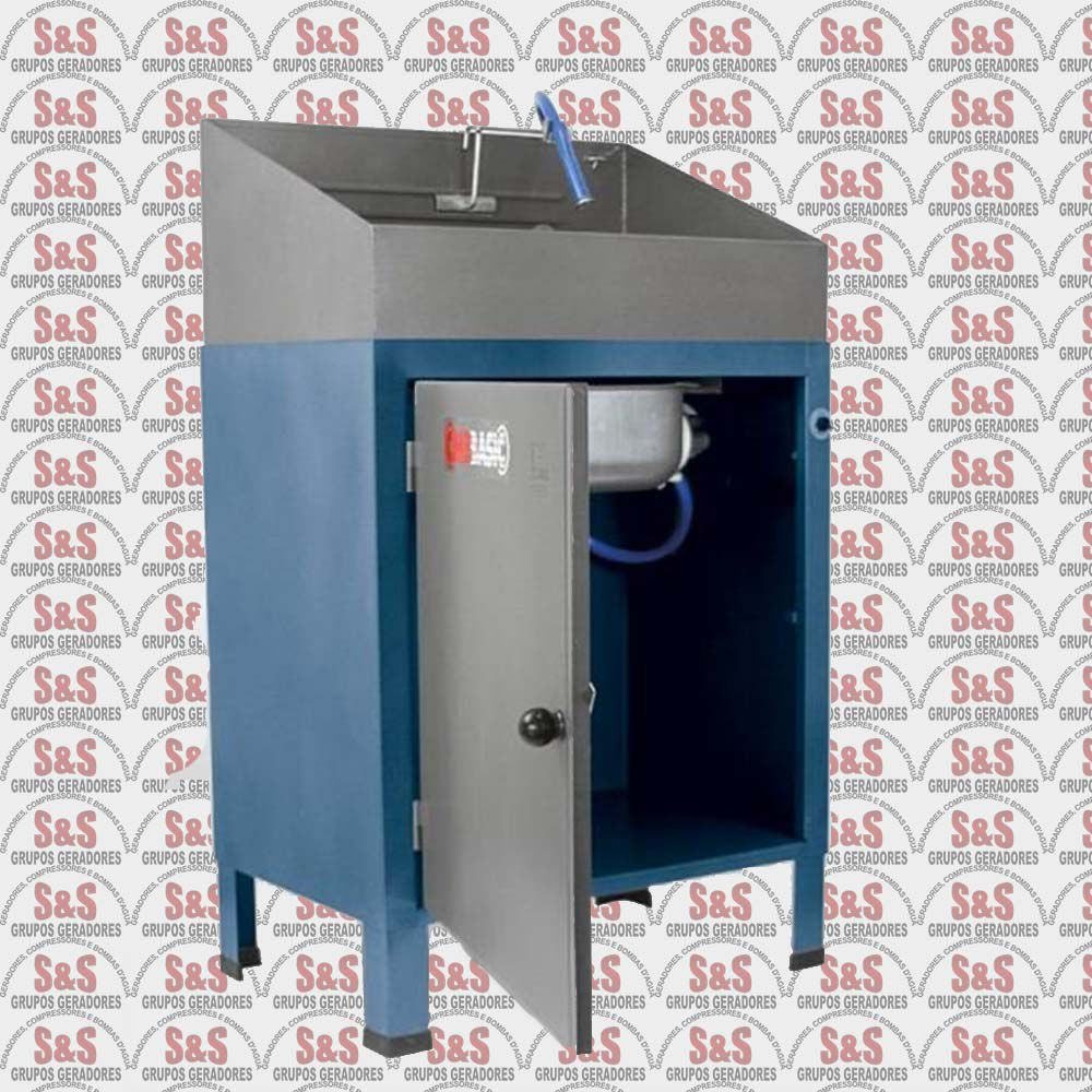 Lavadora Basic Pequena Desmontável 110V - Fechada - LBD11 - CMB