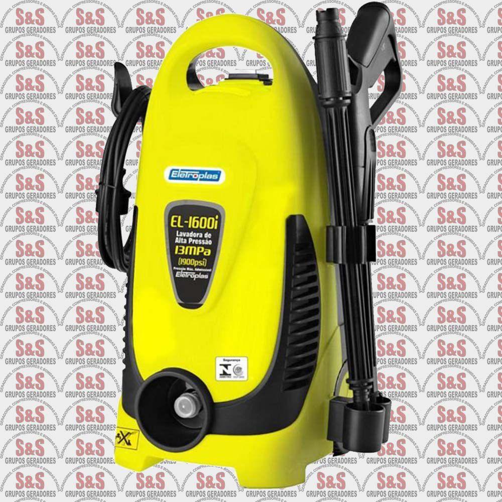 Lavadora De Alta Pressão 1600W - 110V - EL1600I - Eletroplas