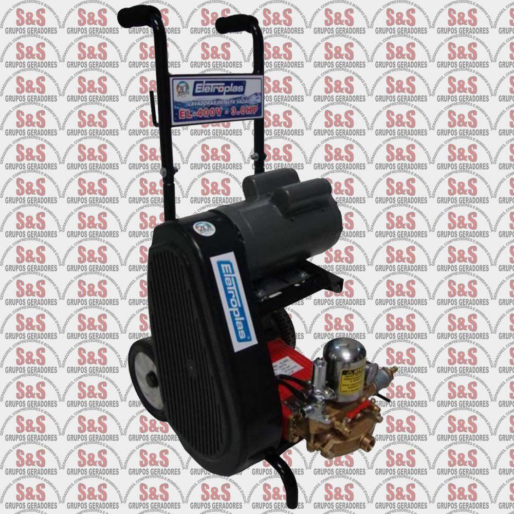 Lavadora de Alta Vazão com Mangueira - 3,0CV - Monofásico 220V - EL400Vi - Eletroplas