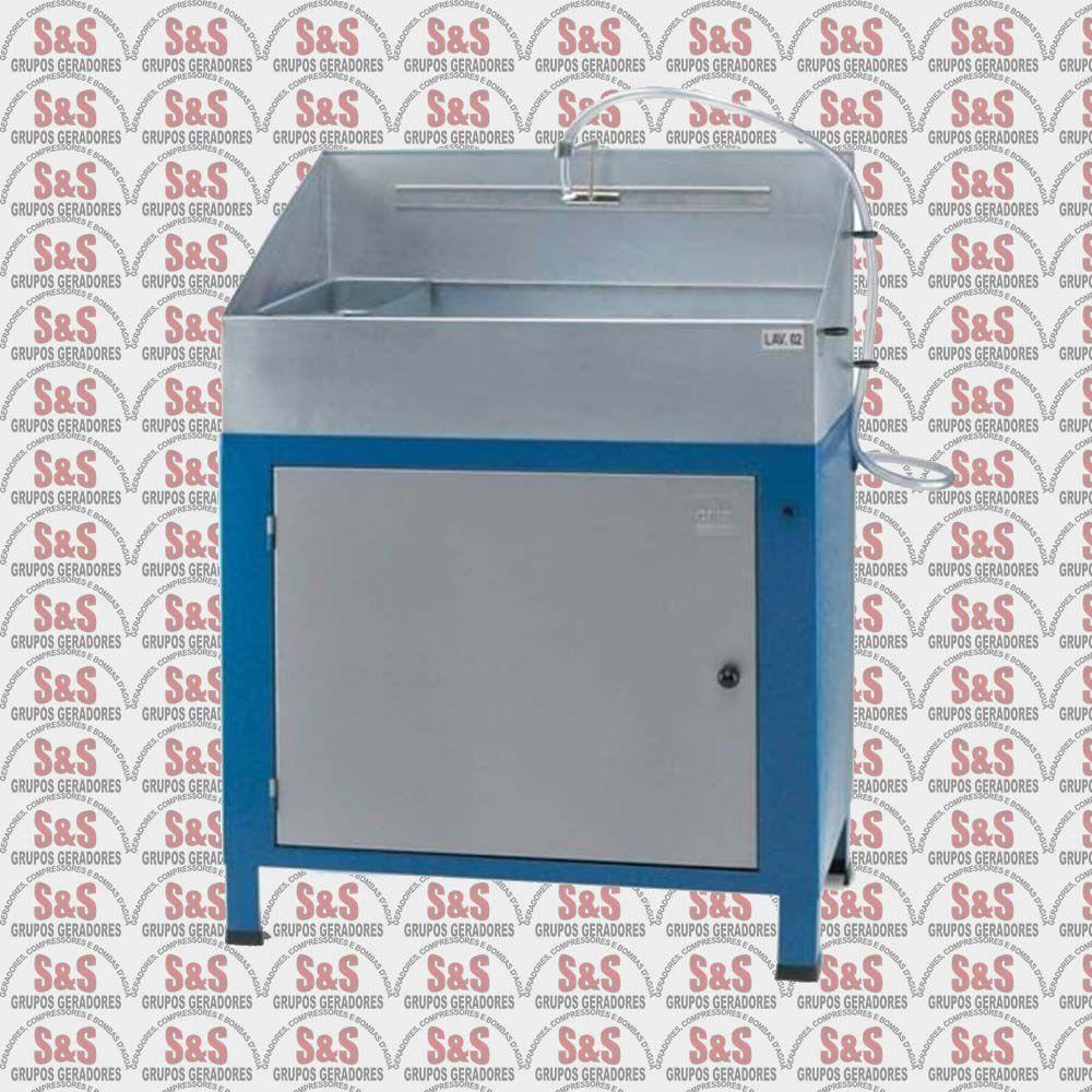 Lavadora de Peças Industriais Fechada com Reservatório de Plástico 220V - LAV 02 - CMB