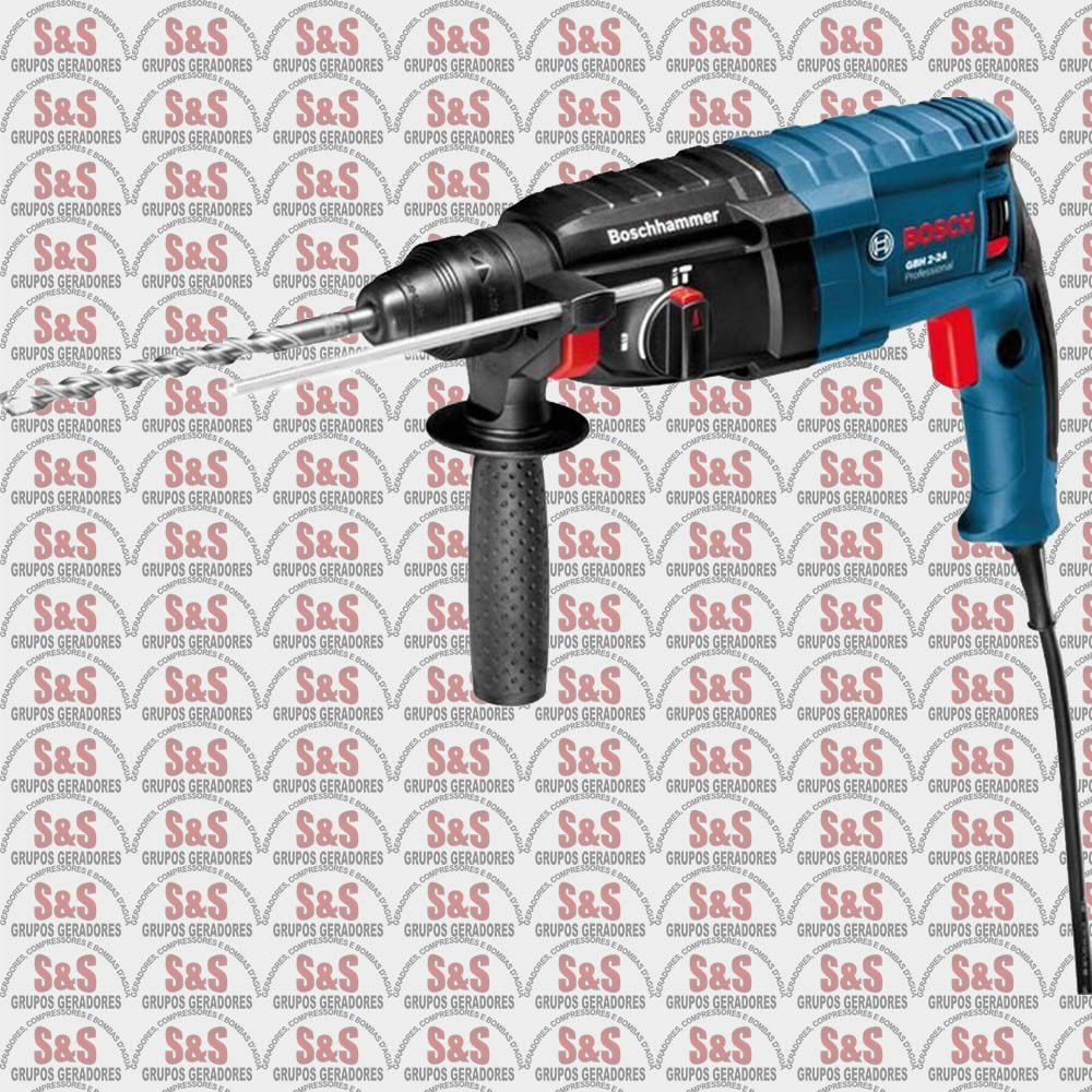 Martelo Perfurador 820W - GBH 2-24 D Profissional - Bosch