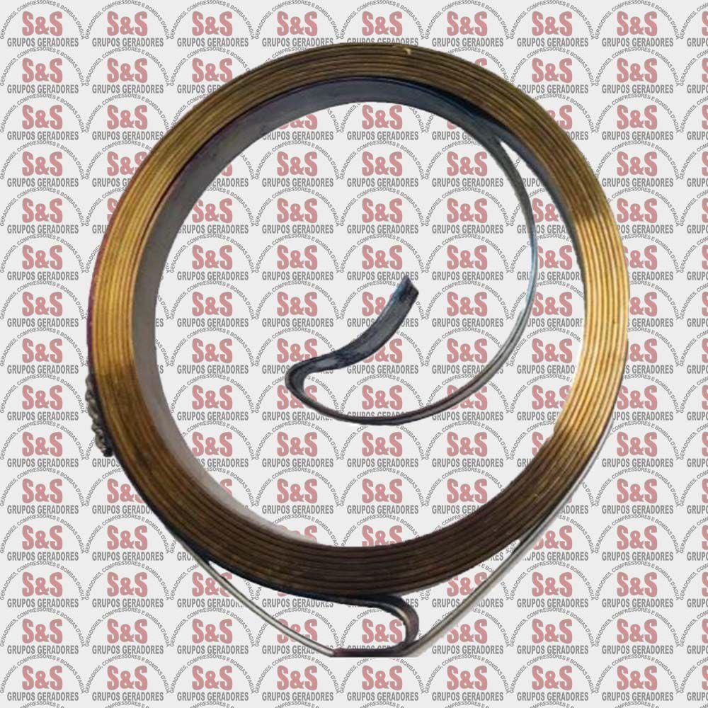 Mola Partida Retrátil Motor Gasolina 13HP- Toyama/ Branco / Motomil