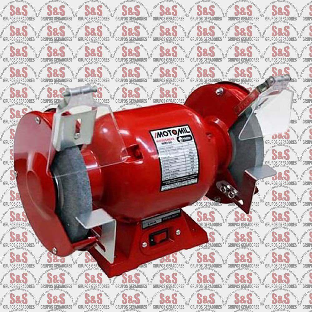 Moto Esmeril 360W - Monofásico 220V - MMI50 - Motomil
