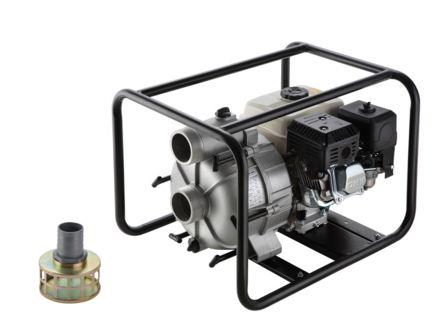 "Motobomba a Gasolina de 3"" x 3"" Polegadas - Auto-Escorvante - Motor de 6,5 CV - 4 Tempos - B4T704SPL - Branco"