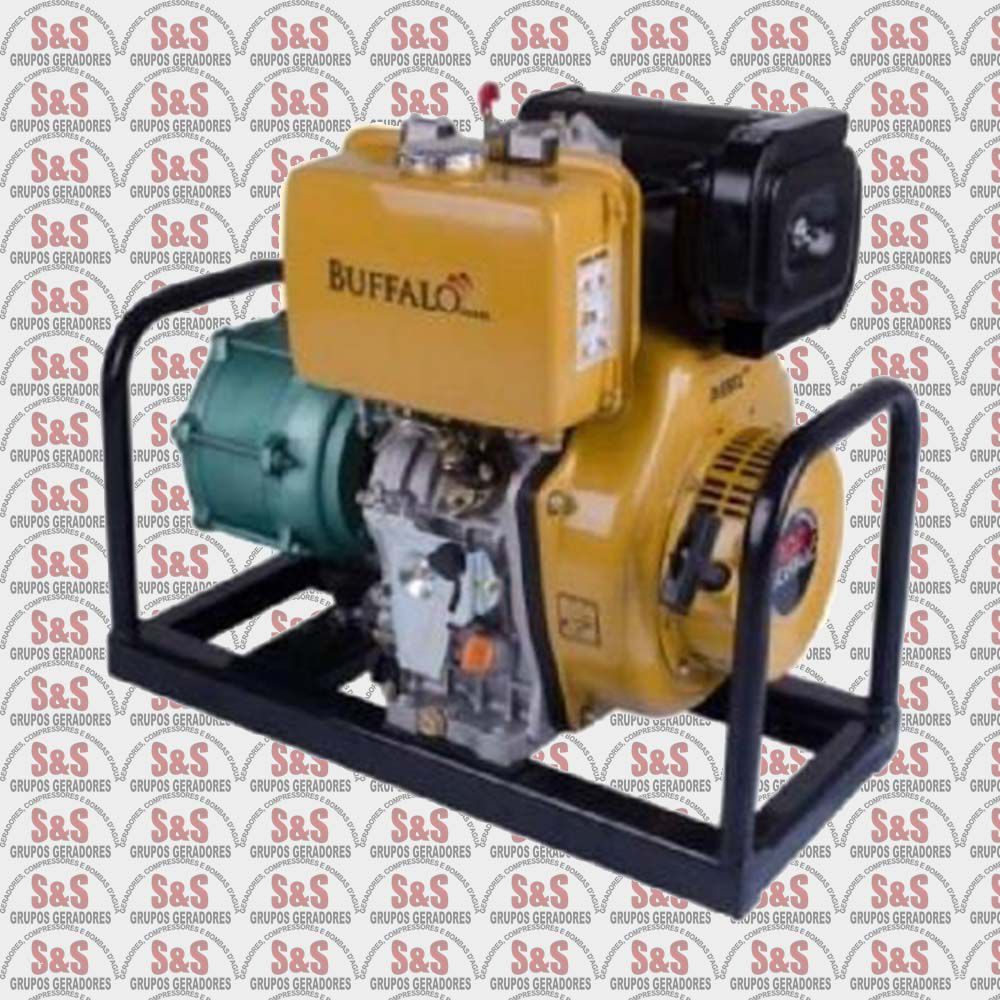 "Motobomba a Diesel de 1.1/2"" x 1.1/2"" Polegadas - Multi Estagio - Motor de 10,0 CV - Partida Eletrica - BFDE P15/3 - Buffalo"