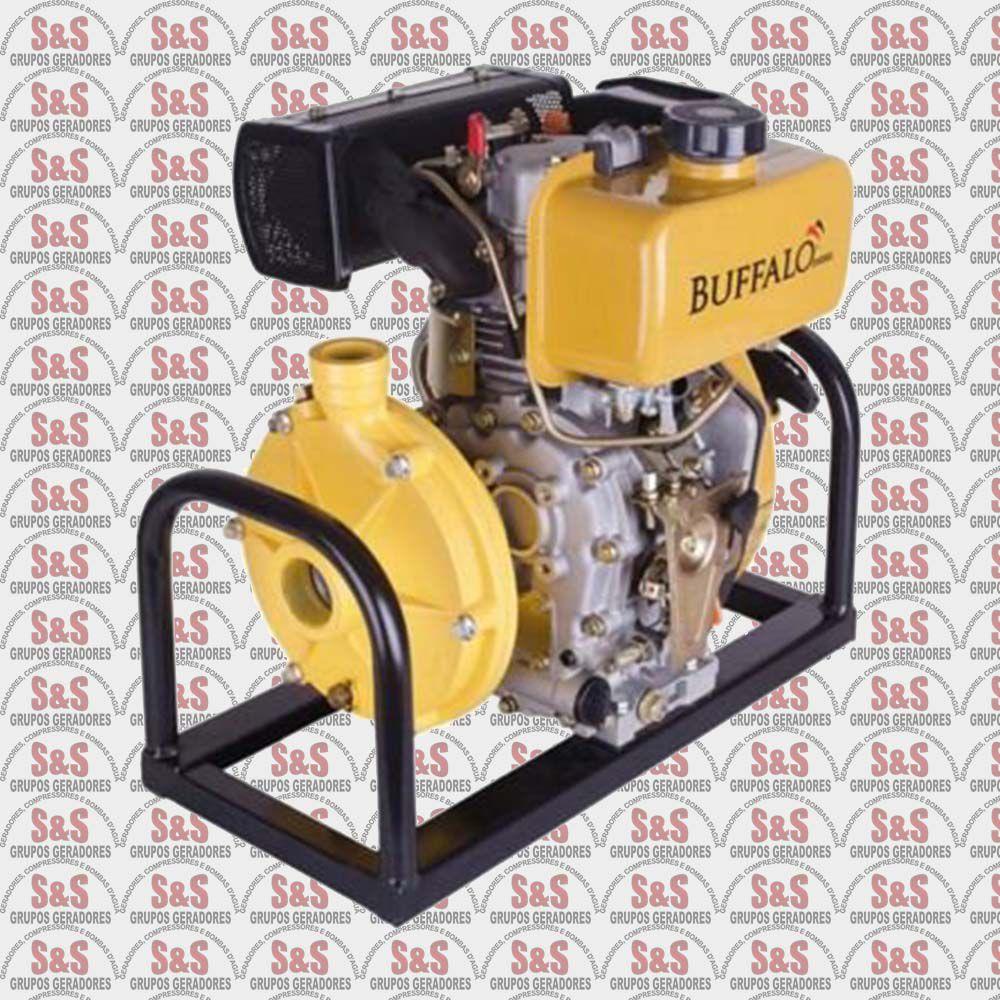 """Motobomba a Diesel de 1.1/2"""" x 1"""" Polegadas - Motor de 5,0 CV - Partida Manual - BFD17"""" - Centrifuga - Buffalo"""