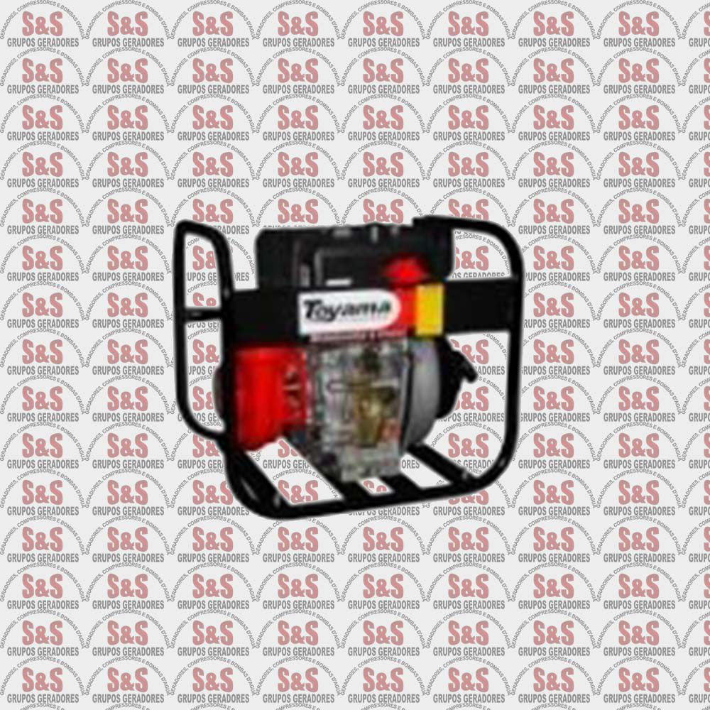 "Motobomba a Diesel de 2.1/2"" x 2.1/2"" Polegadas - Centrifuga - 4 Tempos - Vazão Máxima de 38 m3/h - TDC25N10BE - Toyama"