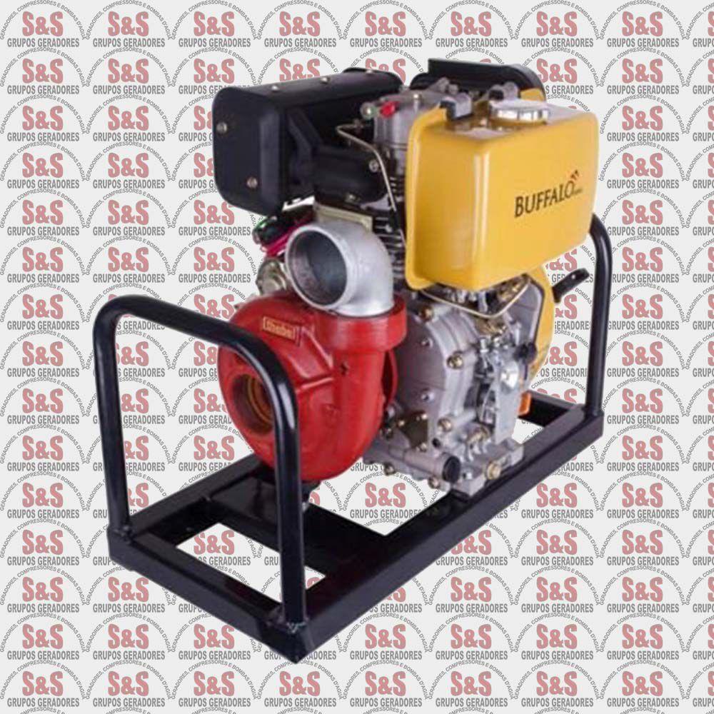 """Motobomba a Diesel de 2.1/2"""" x 2.1/2"""" Polegadas - Motor de 10,0 CV - Partida Eletrica - BFDE 2.1/2""""x2.1/2"""" Incêndio - Buffalo"""