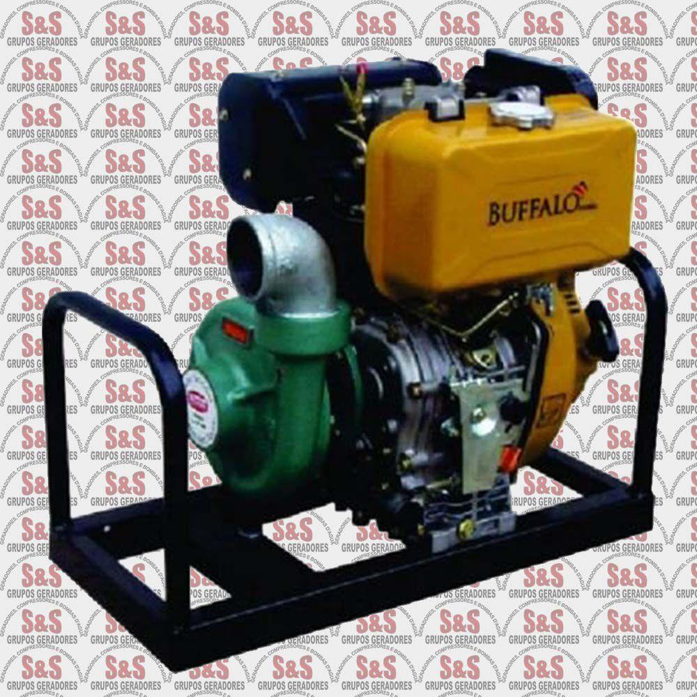 """Motobomba a Diesel de 2.1/2"""" x 2.1/2"""" Polegadas - Motor de 12,0 CV - Partida Eletrica - BFDE 2.1/2"""" X 2.1/2"""" R173 - Buffalo"""