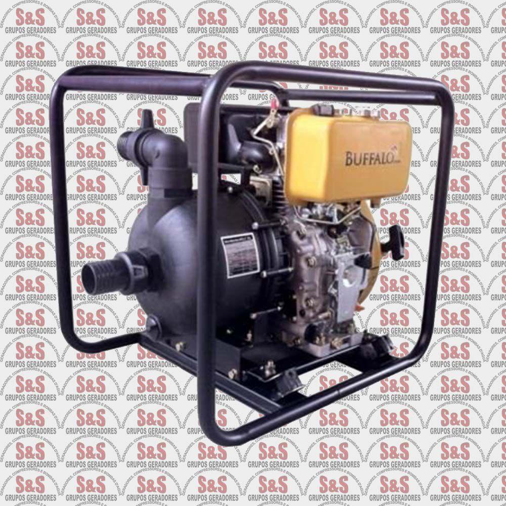 "Motobomba a Diesel de 2"" x 2"" Polegadas - Motor de 7,0 CV - Partida Manual - BFD 2"" PU - Buffalo"