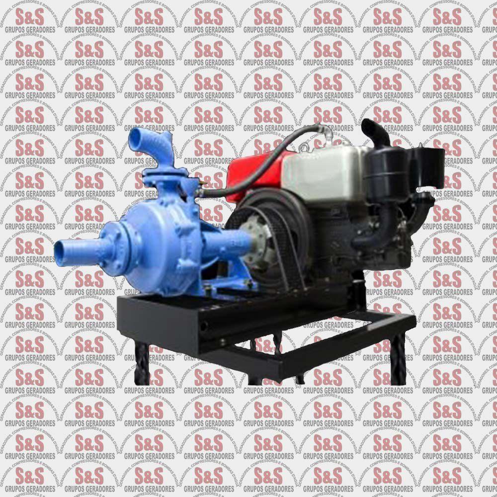 """Motobomba a Diesel de 3"""" x 2.1/2"""" Polegadas - Refrigerado a Ar - Motor de 12.1 CV - 4 Tempos - TMBD 80-26/2 - Tramontini"""