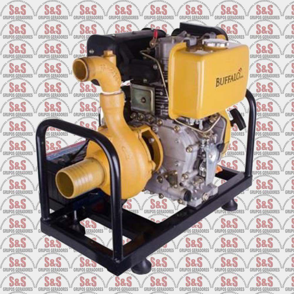"""Motobomba a Diesel de 3"""" x 2"""" Polegadas -  Partida Manual / Eletrica - BFDE 3""""x2"""" - Centrifuga - Buffalo"""
