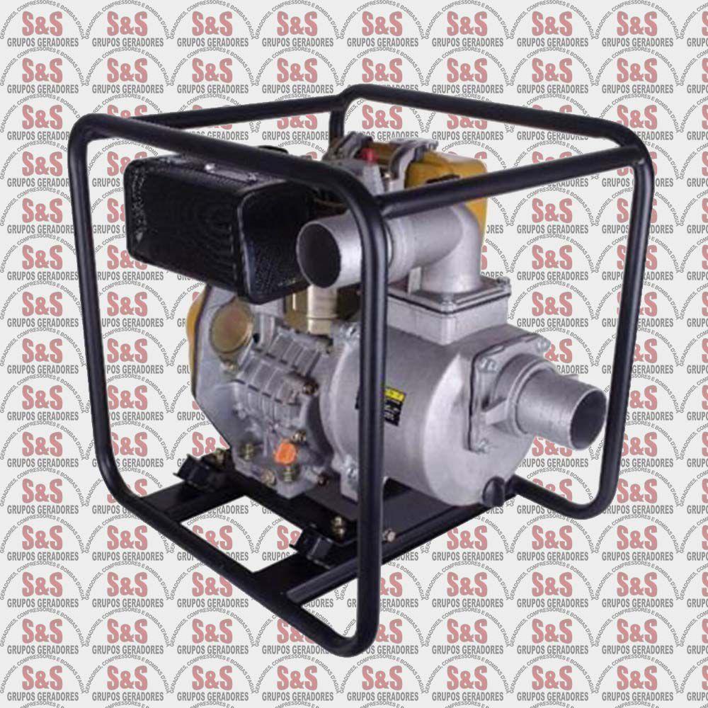 "Motobomba a Diesel de 3"" x 3"" Polegadas - Auto-Escorvante - Motor de 7,0 CV - Partida Elétrica / Manual - BFDE 3"" Plus - Buffalo"