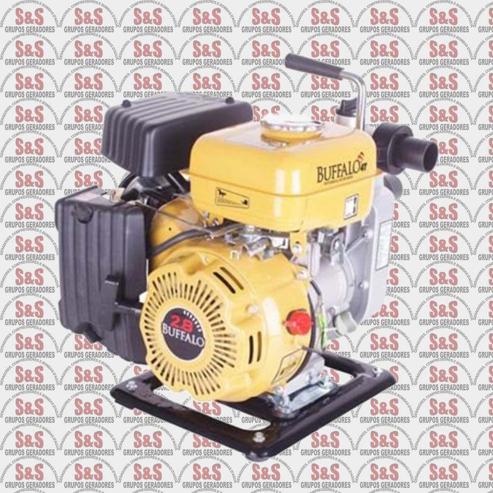 """Motobomba a Gasolina de 1.1/2"""" x 1.1/2"""" Polegadas - Auto-Escorvante - Motor de 2,8 CV - BFG 1.1/2"""" X 1.1/2"""" - Buffalo"""