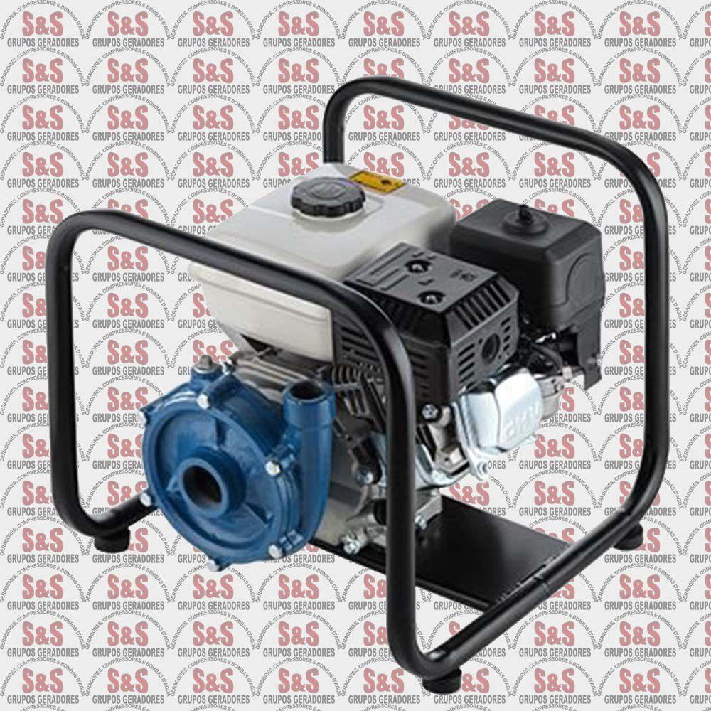 """Motobomba a Gasolina de 1.1/2"""" x 1"""" Polegadas - Centrifuga - Motor de 5,5 CV - 4 Tempos - B4T715FE - Branco"""