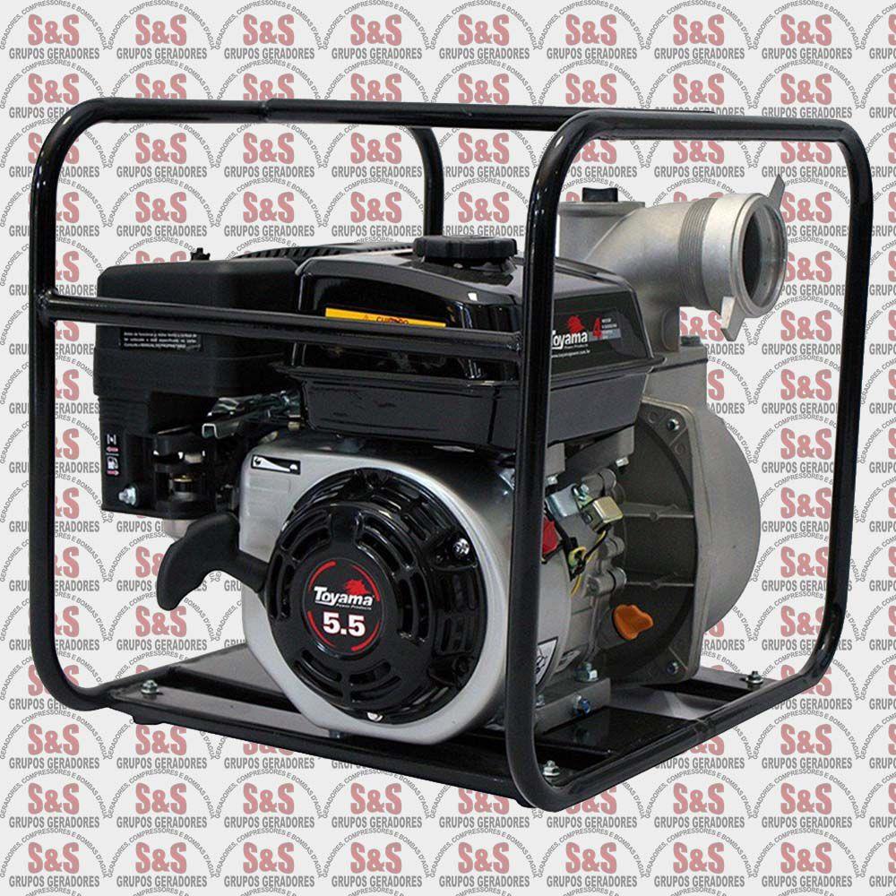 """Motobomba a Gasolina de 2"""" x 2"""" Polegadas - Auto-Escorvante - Motor de 5,5 CV - 4 Tempos - Vazão Máxima de 34 m3/h - TFAE2RF55FX1 - Toyama"""