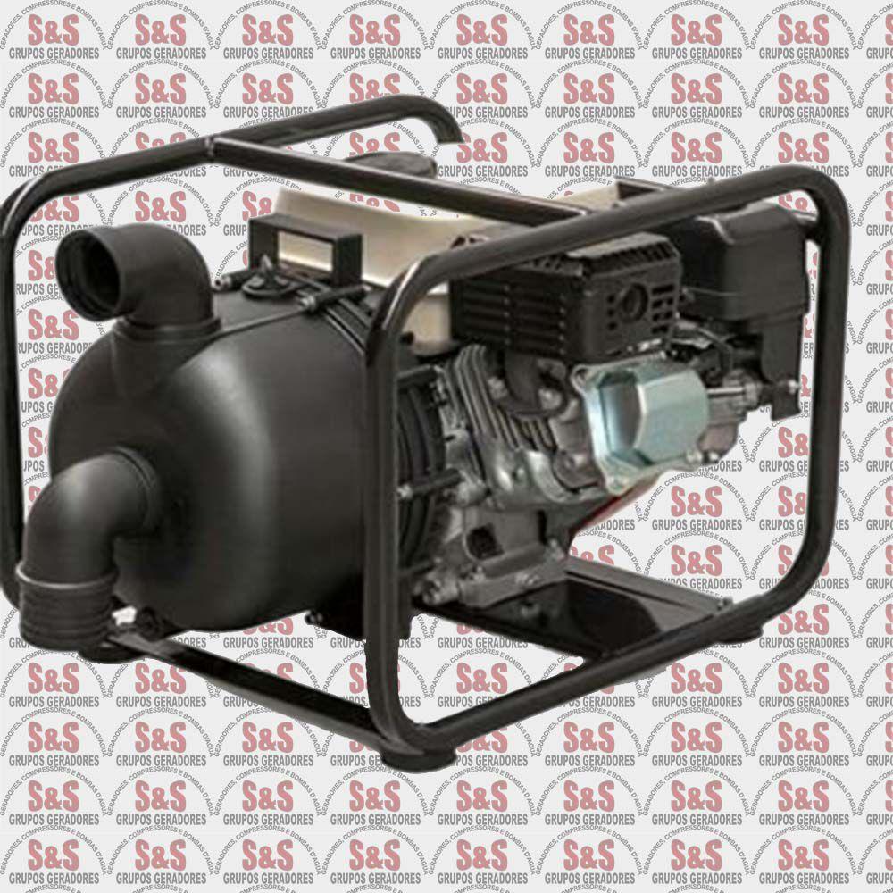 """Motobomba a Gasolina de 2"""" x 2"""" Polegadas - Auto-Escorvante - Motor de 6,5 CV - 4 Tempos - B4T707 PA - Branco"""