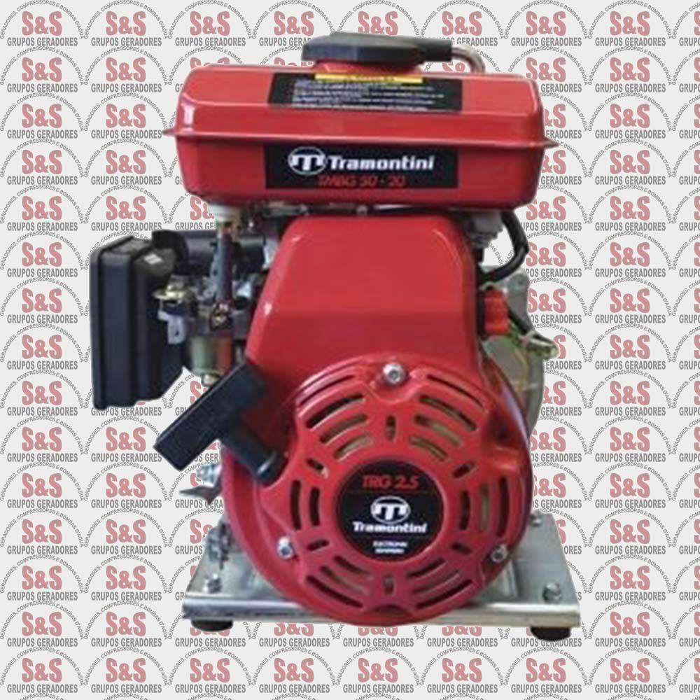 """Motobomba a Gasolina de 2"""" x 2"""" Polegadas - Refrigerado a Ar  - Motor de 2,0 CV - 4 Tempos - TMBG 50-20 - Tramontini"""