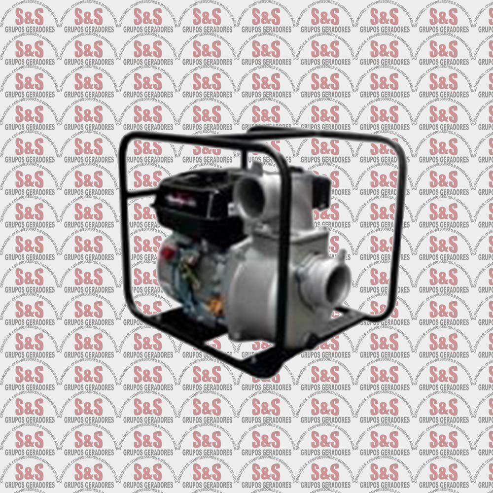 """Motobomba a Gasolina de 3"""" x 3"""" Polegadas - Auto-Escorvante - 4 Tempos - Vazão Máxima de 55 m3/h - TFAE3RF65FX1 - Toyama"""