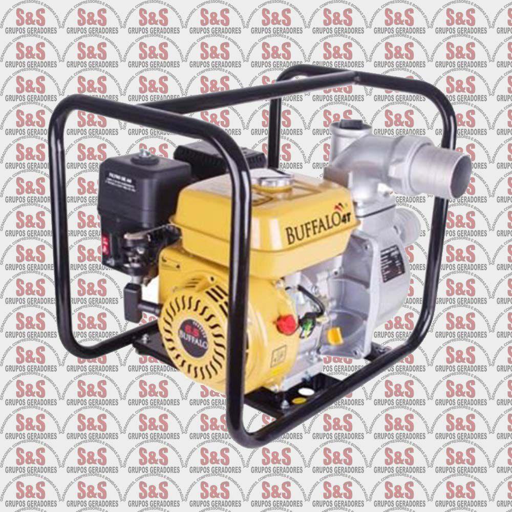 """Motobomba a Gasolina de 3"""" x 3"""" Polegadas - Auto-Escorvante - Motor de 6,5 CV a 3600 rpm - BFG 3"""" - Buffalo"""