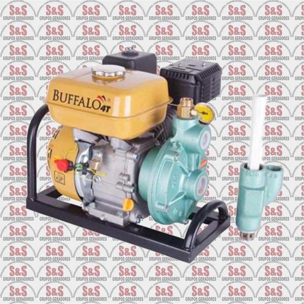 Motobomba a Gasolina - Motor de 5,5 CV a 3600 rpm - BFG TJ 16/30 Injetora - Buffalo