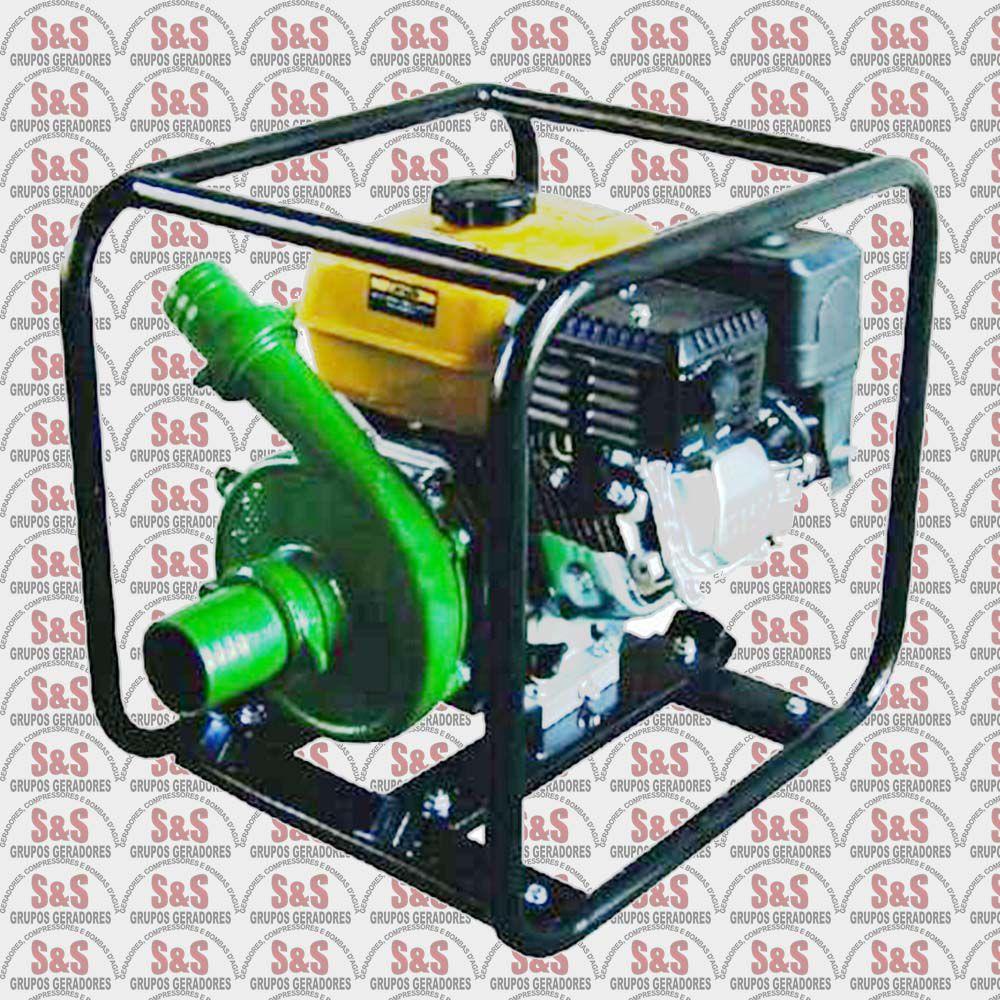 """Motobomba a Gasolina - Motor de 6,5 CV a 3600 rpm - BFG 2.1/2"""" x 2"""" Centrifuga - Buffalo"""