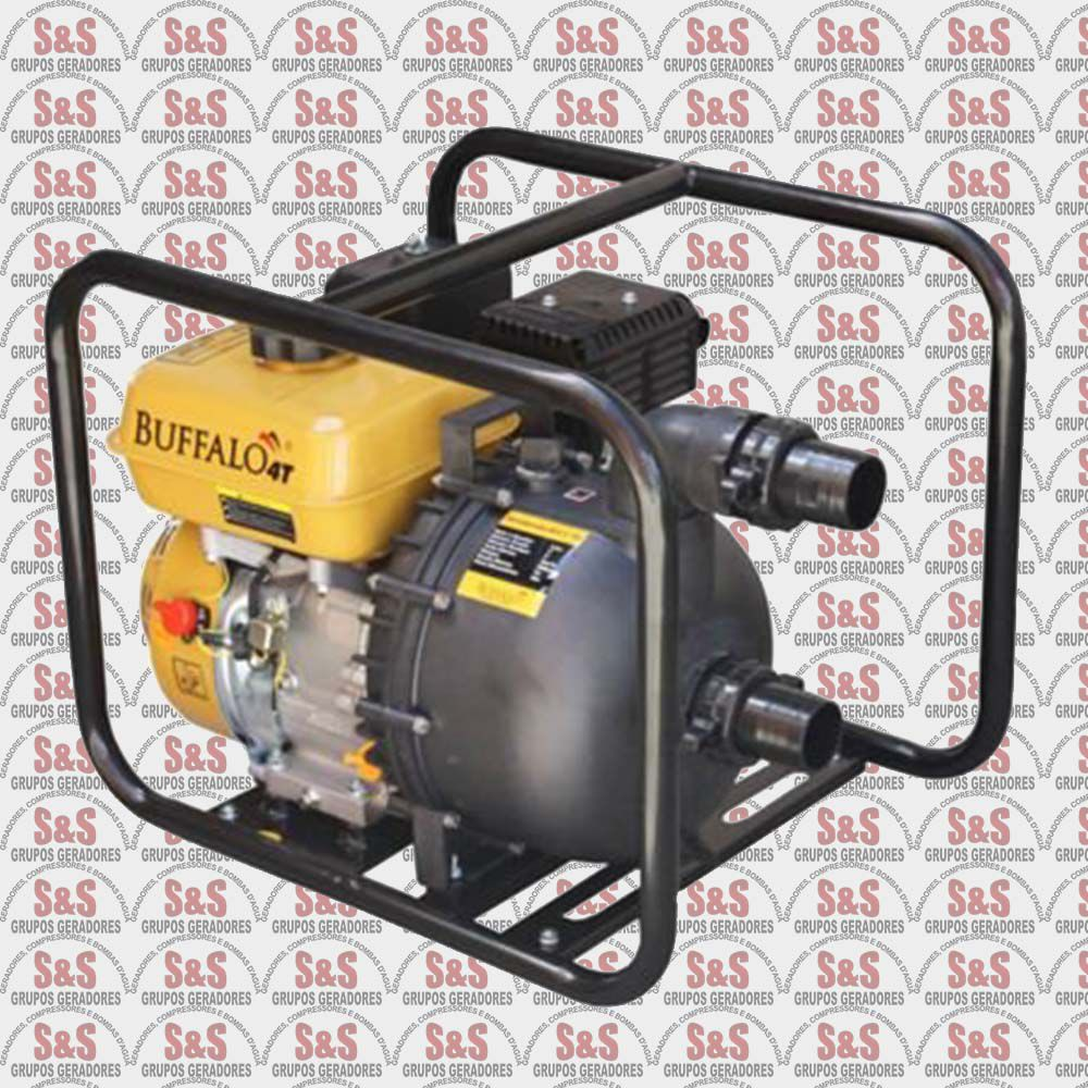 "Motobomba a Gasolina - Motor de 6,5 CV a 3600 rpm - BFG 2"" PU Produtos Quimicos - Buffalo"