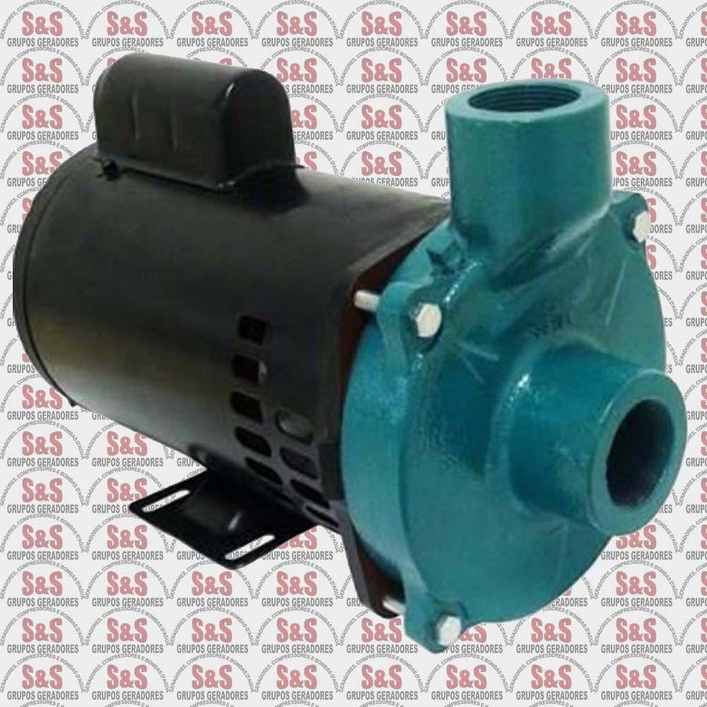 "Motobomba centrifuga 1.1/2"" x 1.1/2"" - 3.0 CV - Trifásica 220V - ECS300T -  Eletroplas"