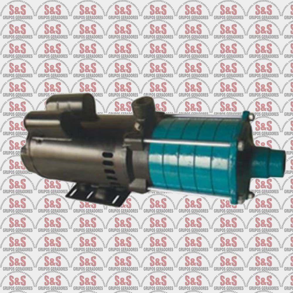 Motobomba Centrifuga Multiestágio Rotor Alumínio - Monofásica 3,0CV - ECM300M - Eletroplas