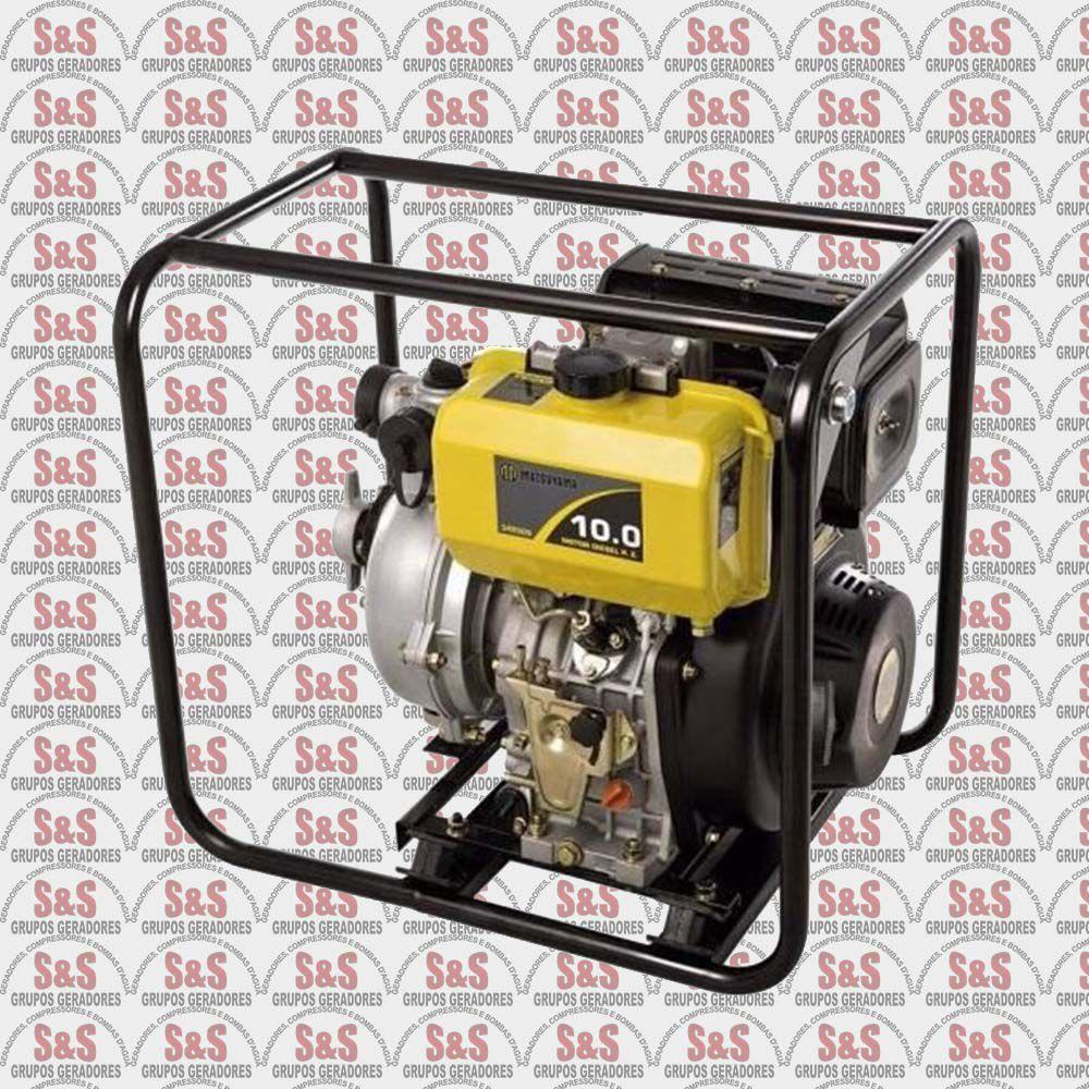 Motobomba Diesel Autoescovante 2-10 HP-ALTA PRESSÃO