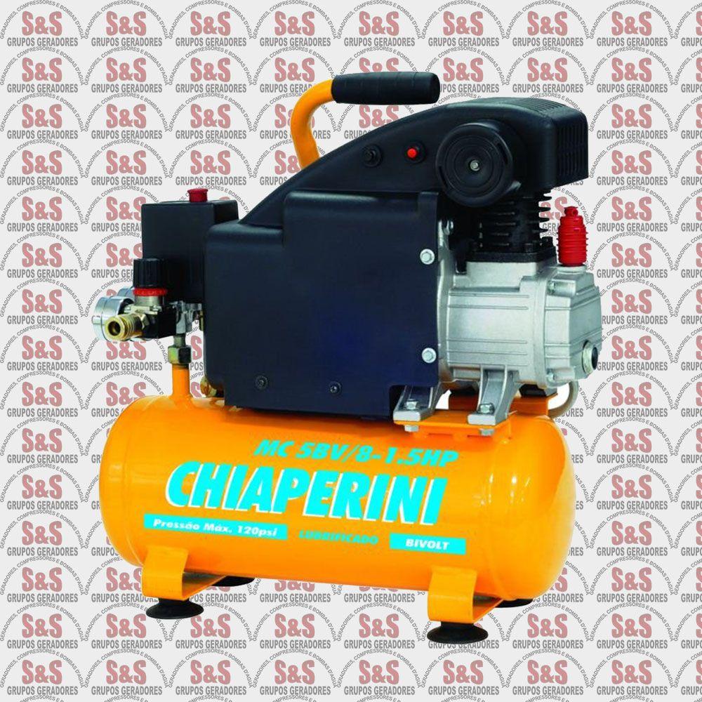 Motocompressor MC5BV/8 - 1.5HP - Bivolt - Chiaperin