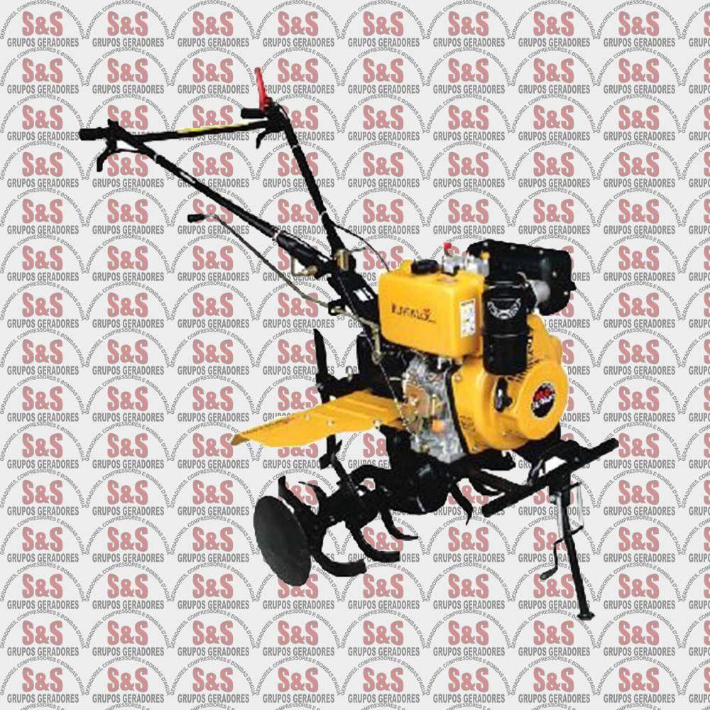 Motocultivador a Diesel - Motor de 9,6 CV a 3.600 rpm - Partida Eletrica - BFDE11/20 - Buffalo