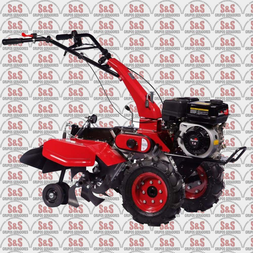 Motocultivador a Gasolina 4 Tempos 7.0HP - 212cc - TT65A Avicultura - TOYAMA