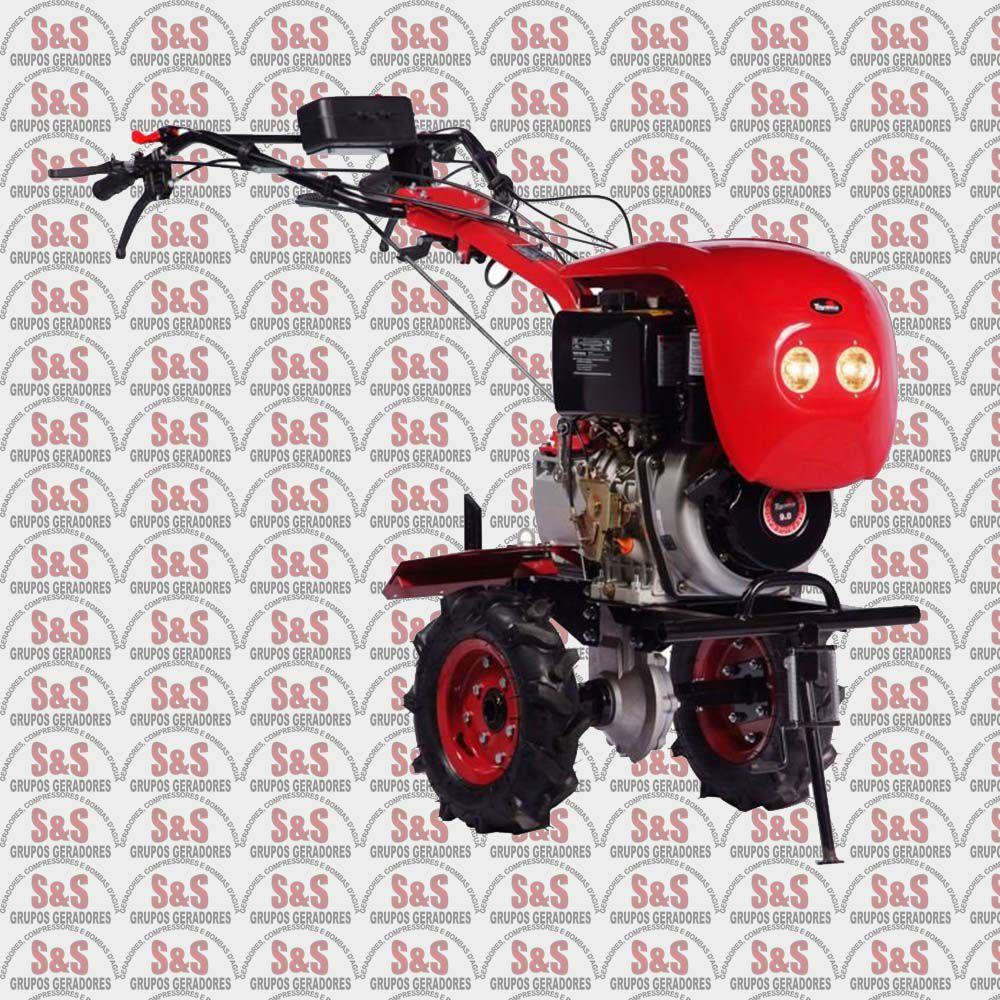 Motocultivador Tratorito a Diesel - Largura de Corte 800mm - TDT110-R-XP - Toyama