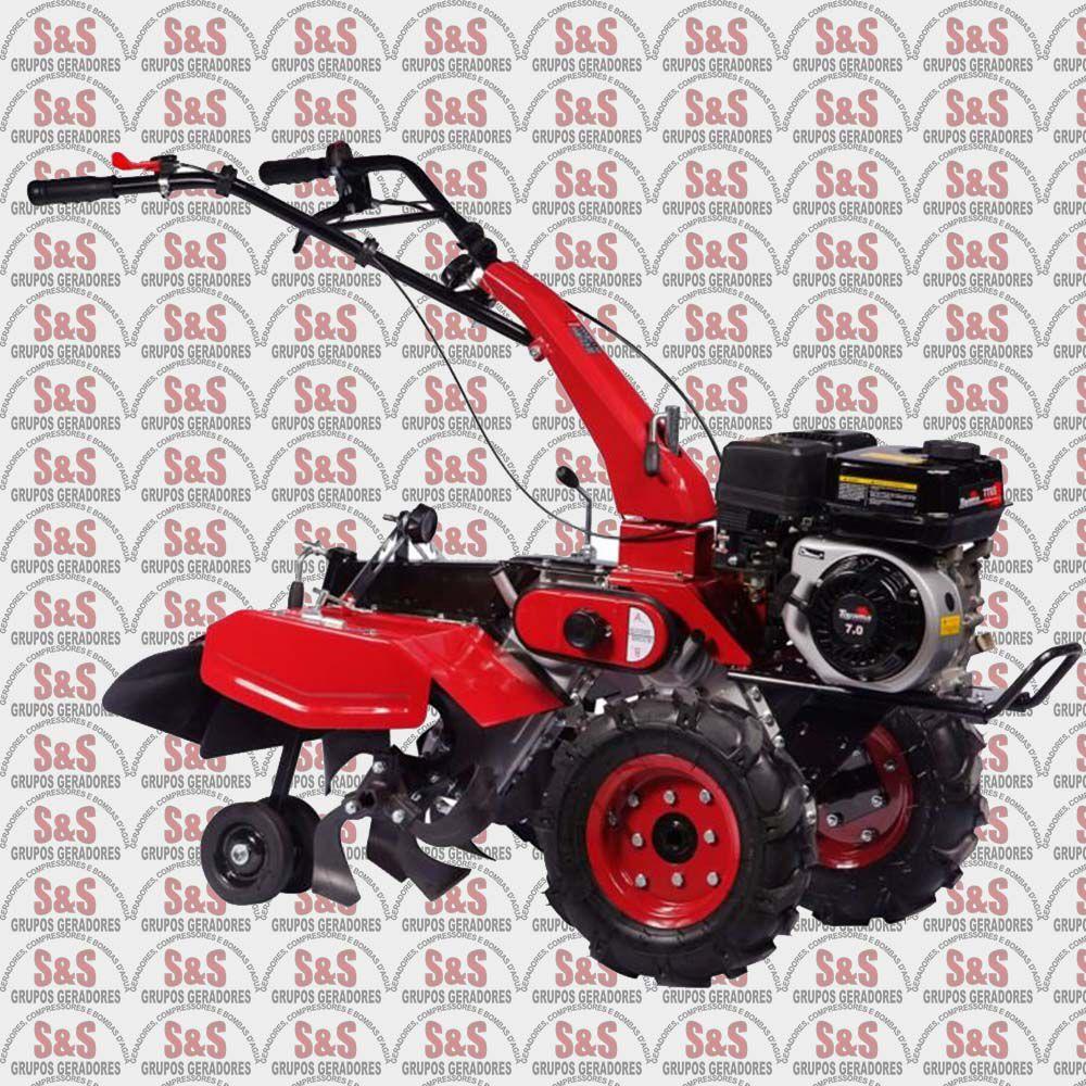 Motocultivador Tratorito a Gasolina - Largura de Corte 420mm - TT65 - Toyama