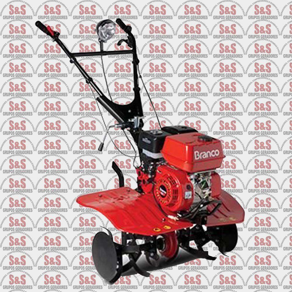 Motocultivador Tratorito a Gasolina - Partida Manual -  Motor de 6.5 CV - Largura de Corte 800mm - BTTG6,5-800  -  Branco