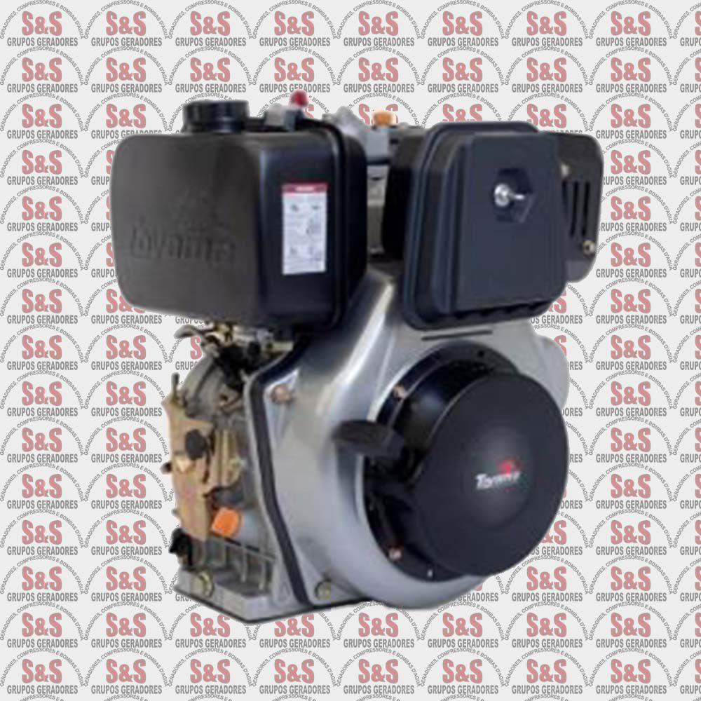 Motor a Diesel - 4 Tempos - 11.0 HP- Eixo 1'' - Chaveta/Rosca - Multiuso - Manual - TDE110XP- Toyama