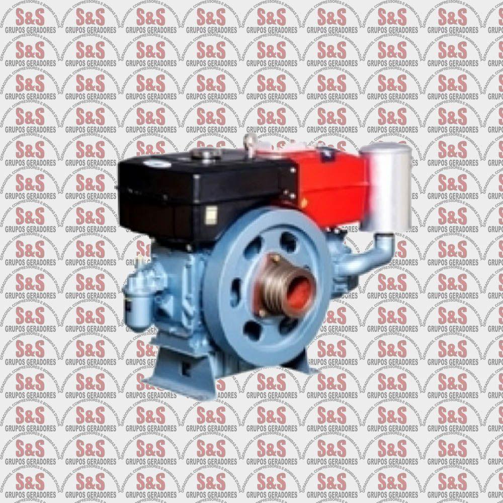 Motor a Diesel - 4 Tempos - 24 HP - Refrigerado a água por sifão - Partida Elétrica - TDW22DE - Toyama