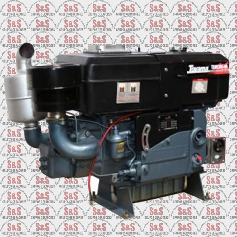 Motor a Diesel - 4 Tempos - 30 HP - Refrigerado a água - Partida Elétrica - TDW30E HD - Toyama