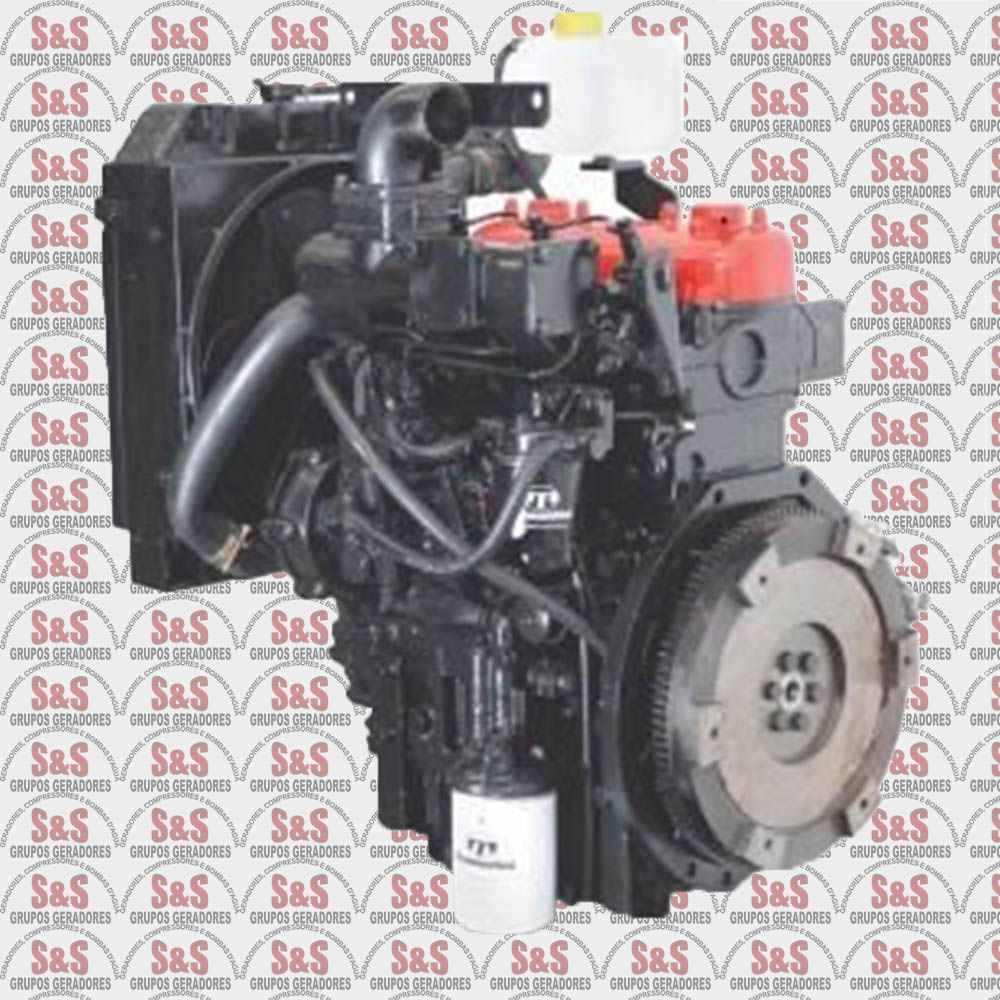 Motor a Diesel - 4 Tempos - Refrigerado a Água - Partida Eletrica - Vertical - TR332V - Tramontini