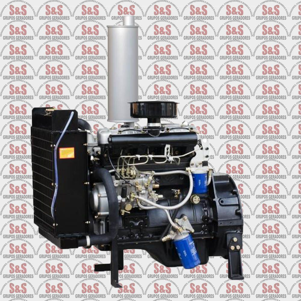 Motor a Diesel a 1800 rpm - 4 Cilindros - BFDE 480 - Buffalo
