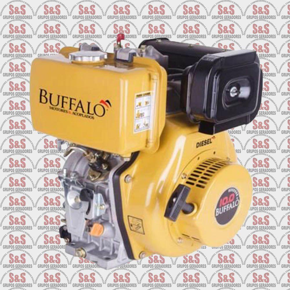 Motor a Diesel de 10,0 CV a 3600 rpm -  Partida Manual - BFD10,0 - Buffalo