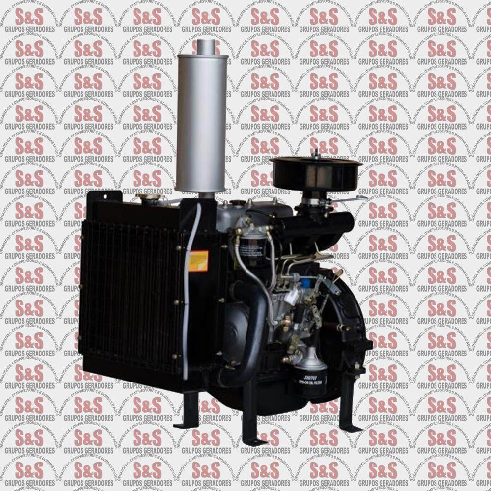 Motor a Diesel de 18 CV a 1800 rpm - 3 Cilindros - BFDE385 - Buffalo