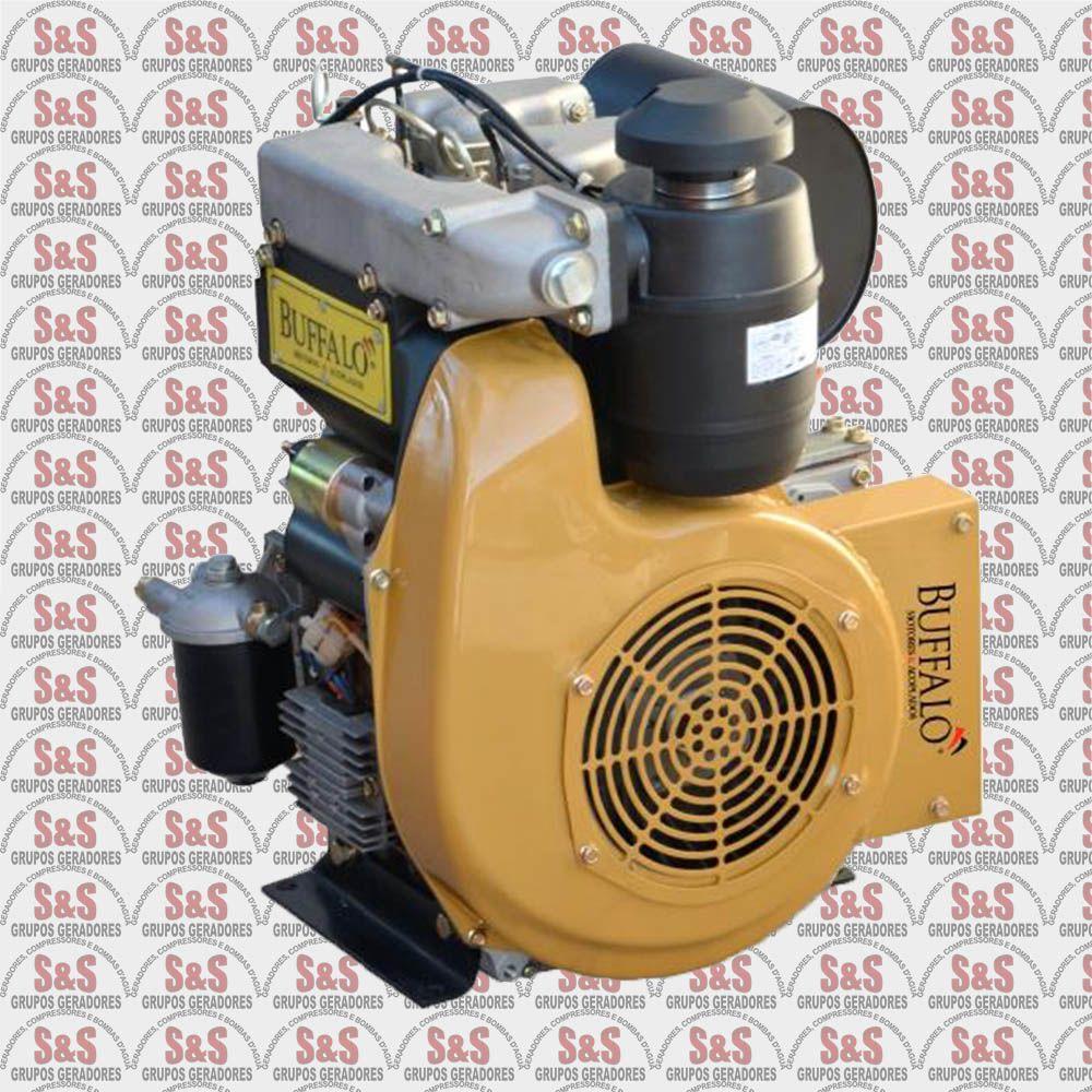 Motor a Diesel de 22 CV - 2 Cilindros em Linha - Partida Eletrica - BFDE292 - Buffalo