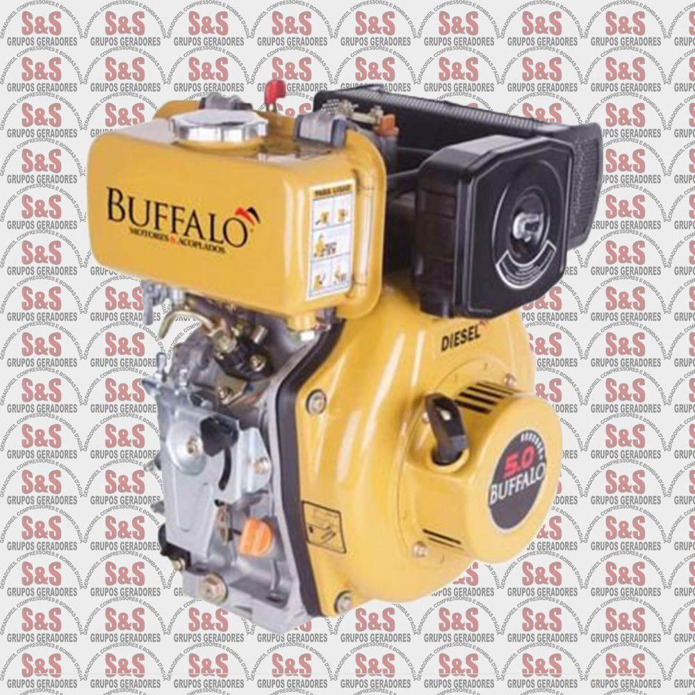 Motor a Diesel de 5,0 CV a 3600 rpm - Partida Manual - BFD5,0 - Buffalo