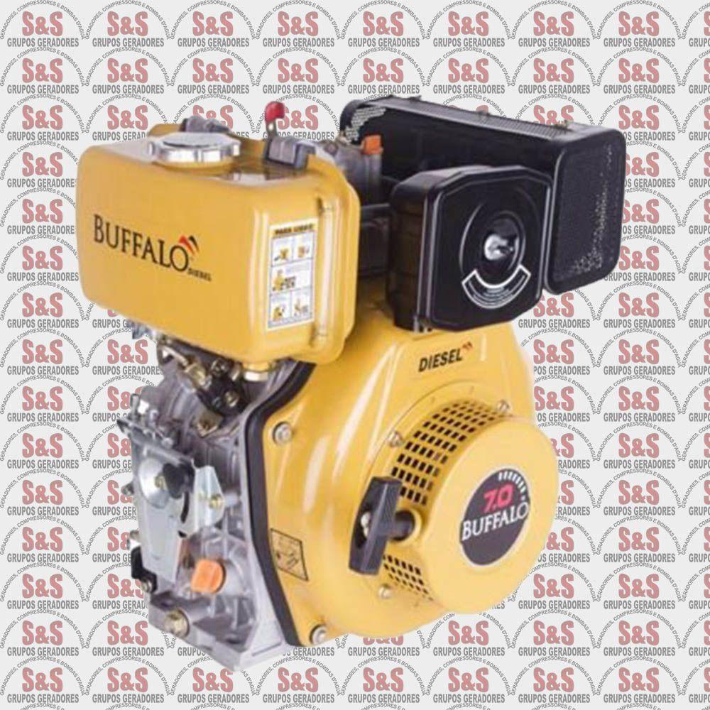 Motor a Diesel de 7,0 CV a 3600 rpm - BFD7,0 - Buffalo