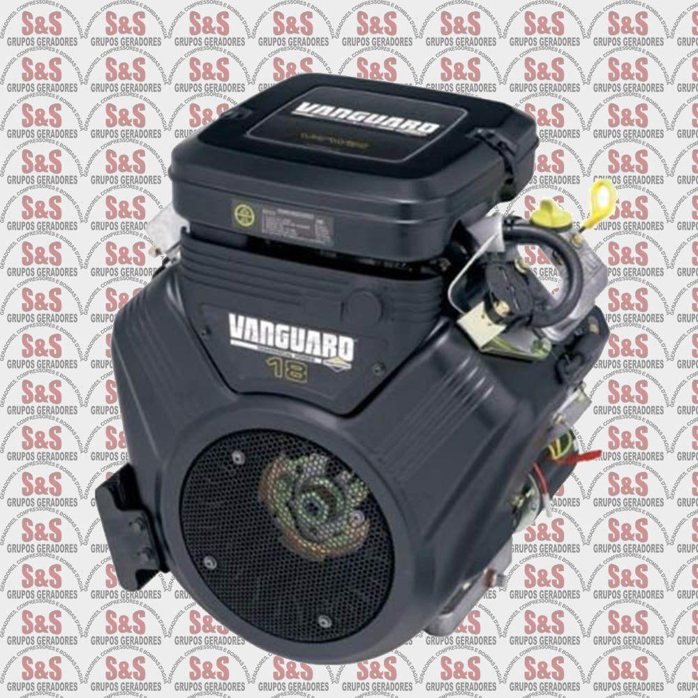 Motor a Gasolina 4 Tempos - 18.0 HP - Partida Manual - Vanguard - Branco