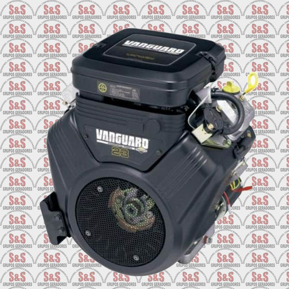 Motor a Gasolina 4 Tempos - 23.0 HP - Partida Eletrica - Vanguard - Branco